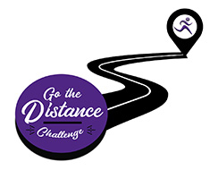 Go the distance challenge logo