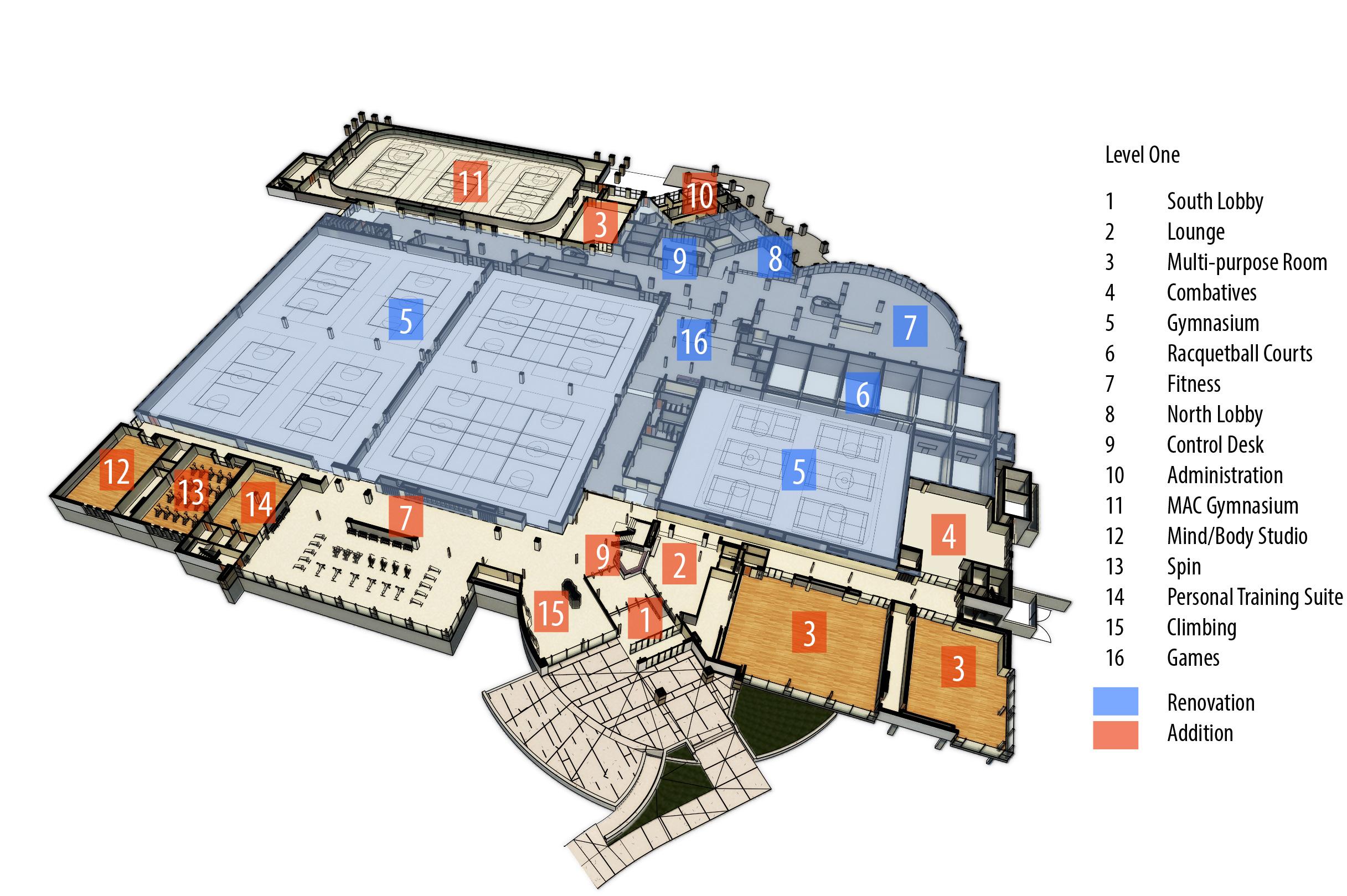 Rec Center Floor Plans Thefloors Co
